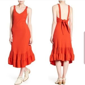 Free People Into You Ribbed Dress